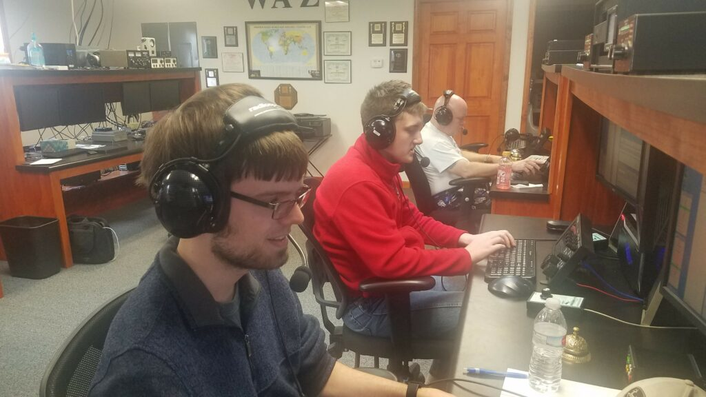 Bradley University, W9JWC on the air for CQ WPX 2019